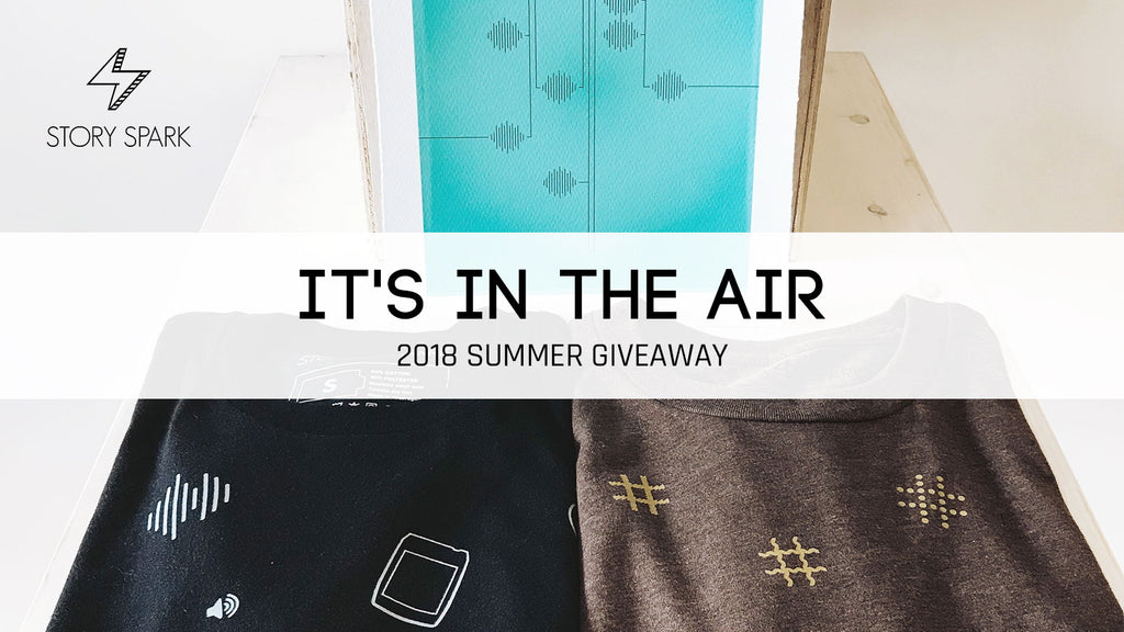 Enter the Story Spark 2018 Summer Techy Tees Giveaway