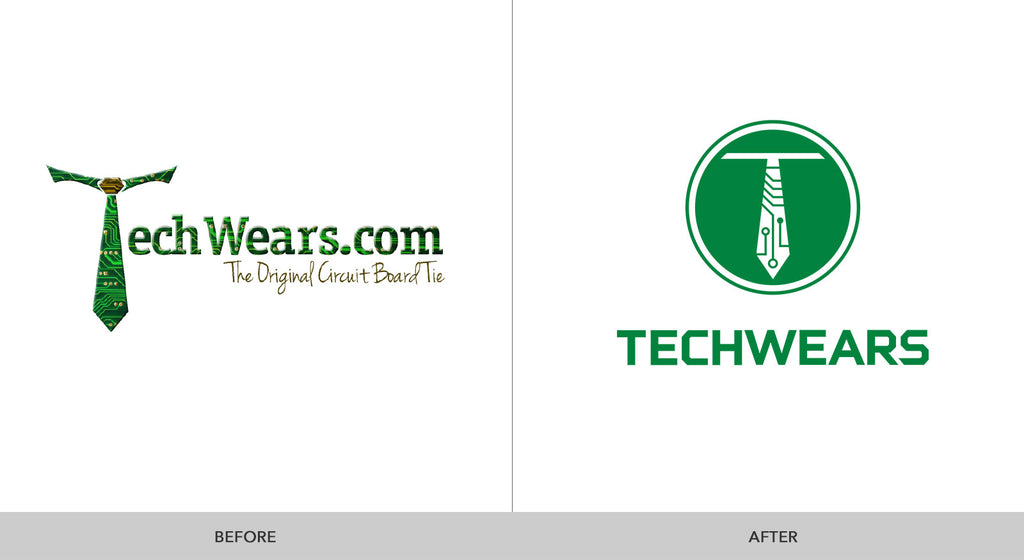 Upcycled Art: Logo Redesign for TechWears