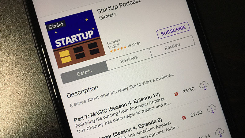 Feed Your Inner Entrepreneur: Five Favorite Podcasts