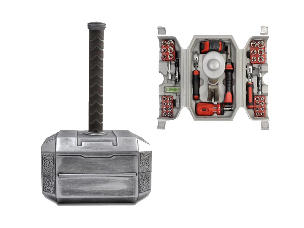 Fathers Day Gifts - Thor Hammer Tool Set