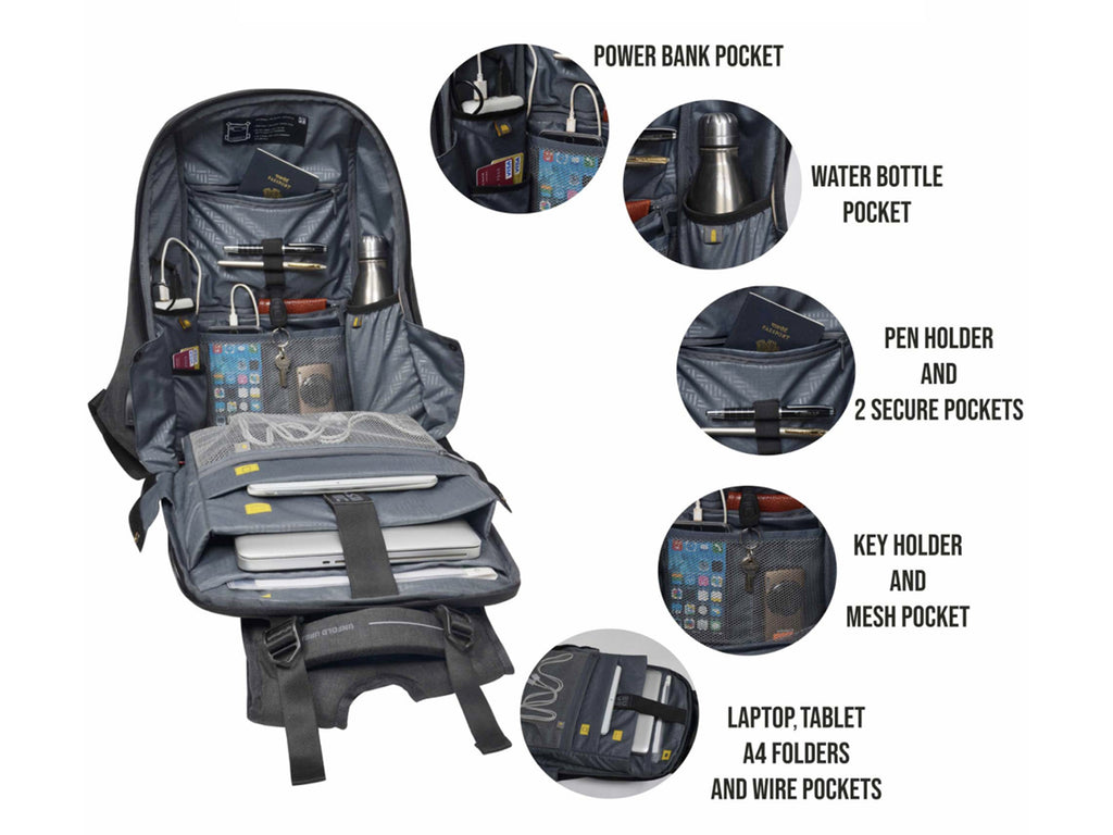 Fathers Day Gift Idea: Eume Backpack Massager