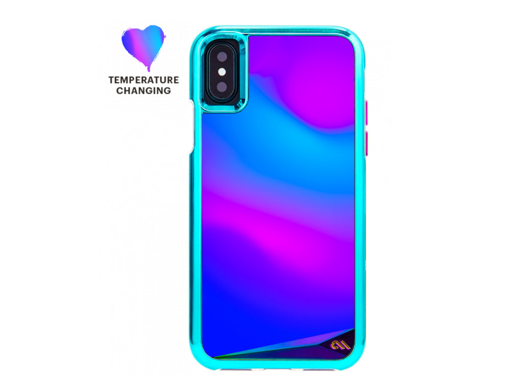 Mood color changing iphone case