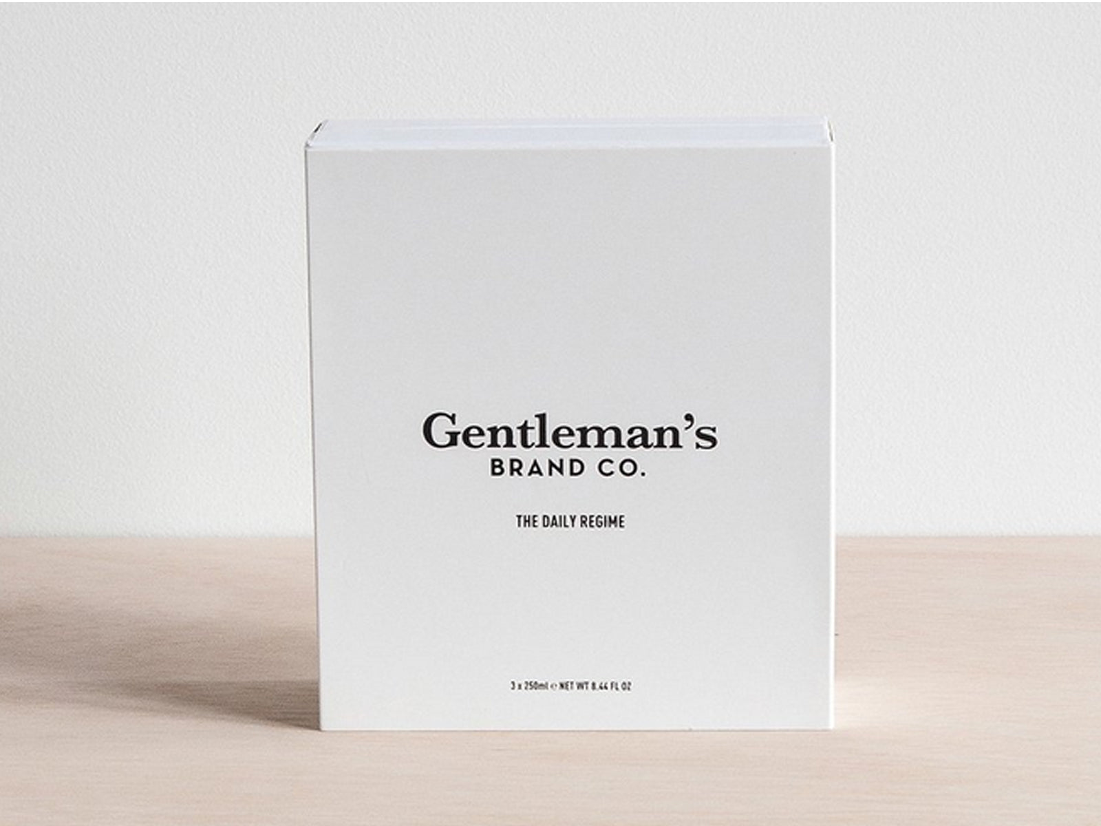 The Daily Regime by Gentlemen's Brand Co