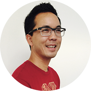 Alex Louie, co-founder of STORY SPARK - techie graphic t-shirt brand