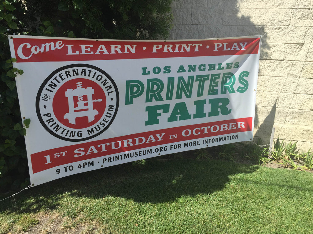 2015 Los Angeles Printers Fair Banner