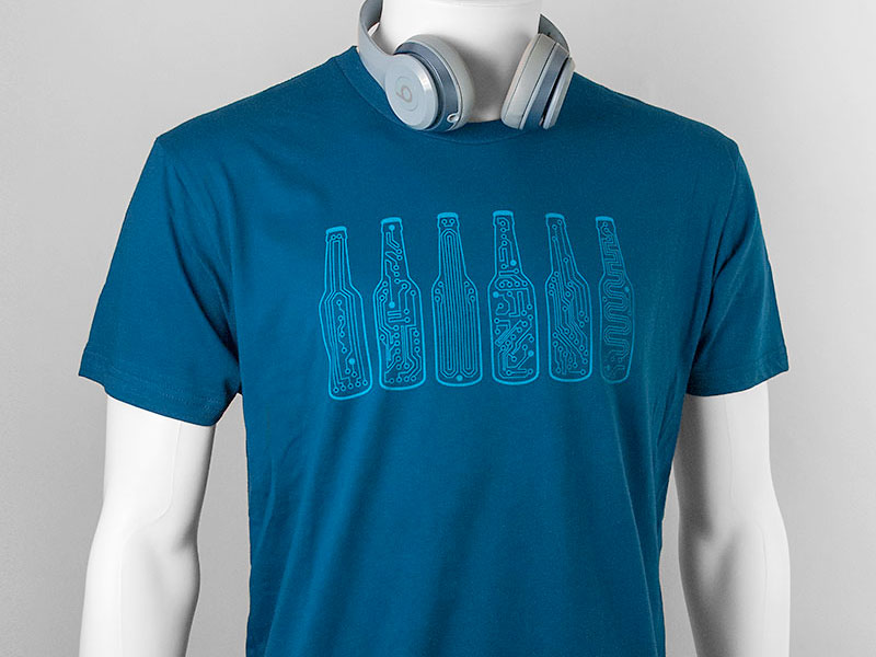 Story Spark Bar Code Graphic T-shirt