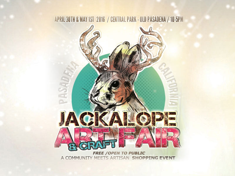 Jackalope Art and Craft Fair in Pasadena, California