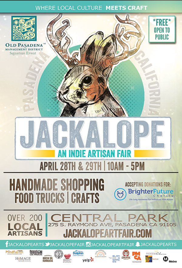2018 Spring Giveaway by LA Weekly and Jackalope Arts
