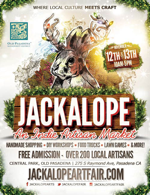 Holiday Gift Giveaway: LA Weekly / Jackalope Arts Market