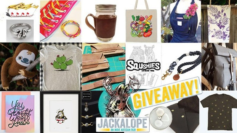 LA Weekly Holiday Gift Giveaway with Jackalope Arts