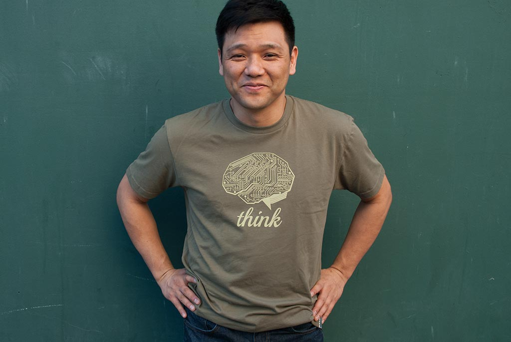 THINK TECH T-shirt by STORY SPARK