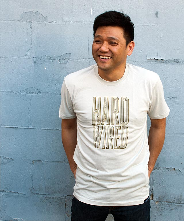 HARD WIRED T-shirt by STORY SPARK
