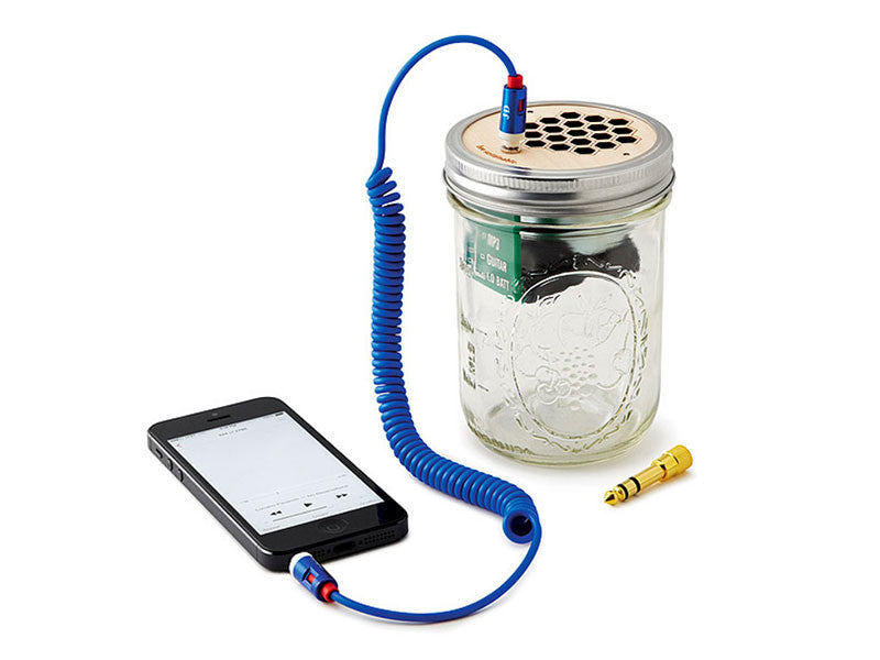 Mason Jar Speaker and Amplifier
