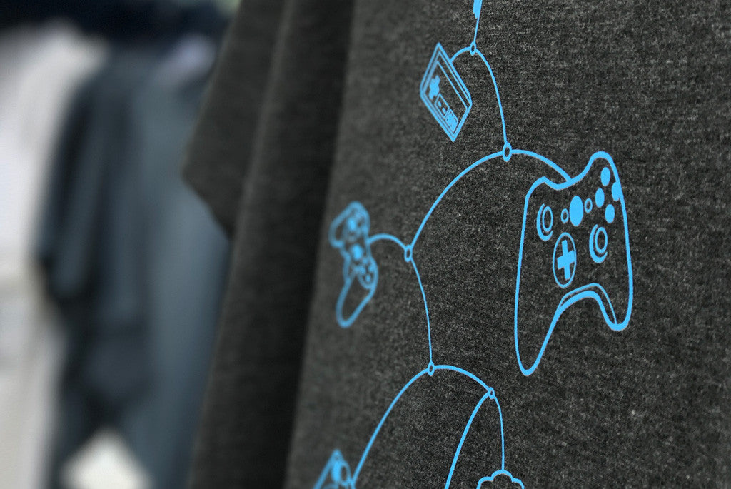 Mobile Controls Graphic T-shirt for Gamers