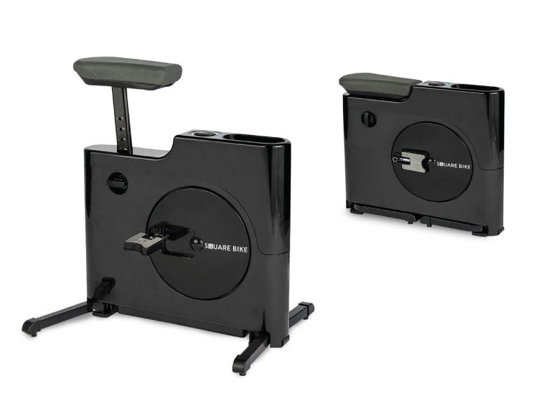 Square Bike - standing desk bike