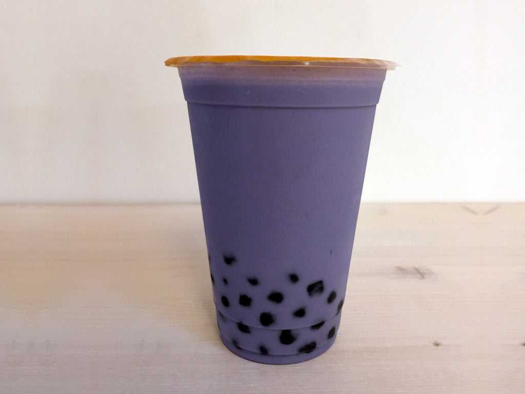 Angel's Brew & Bubble Tea - Taro Milk Tea Boba