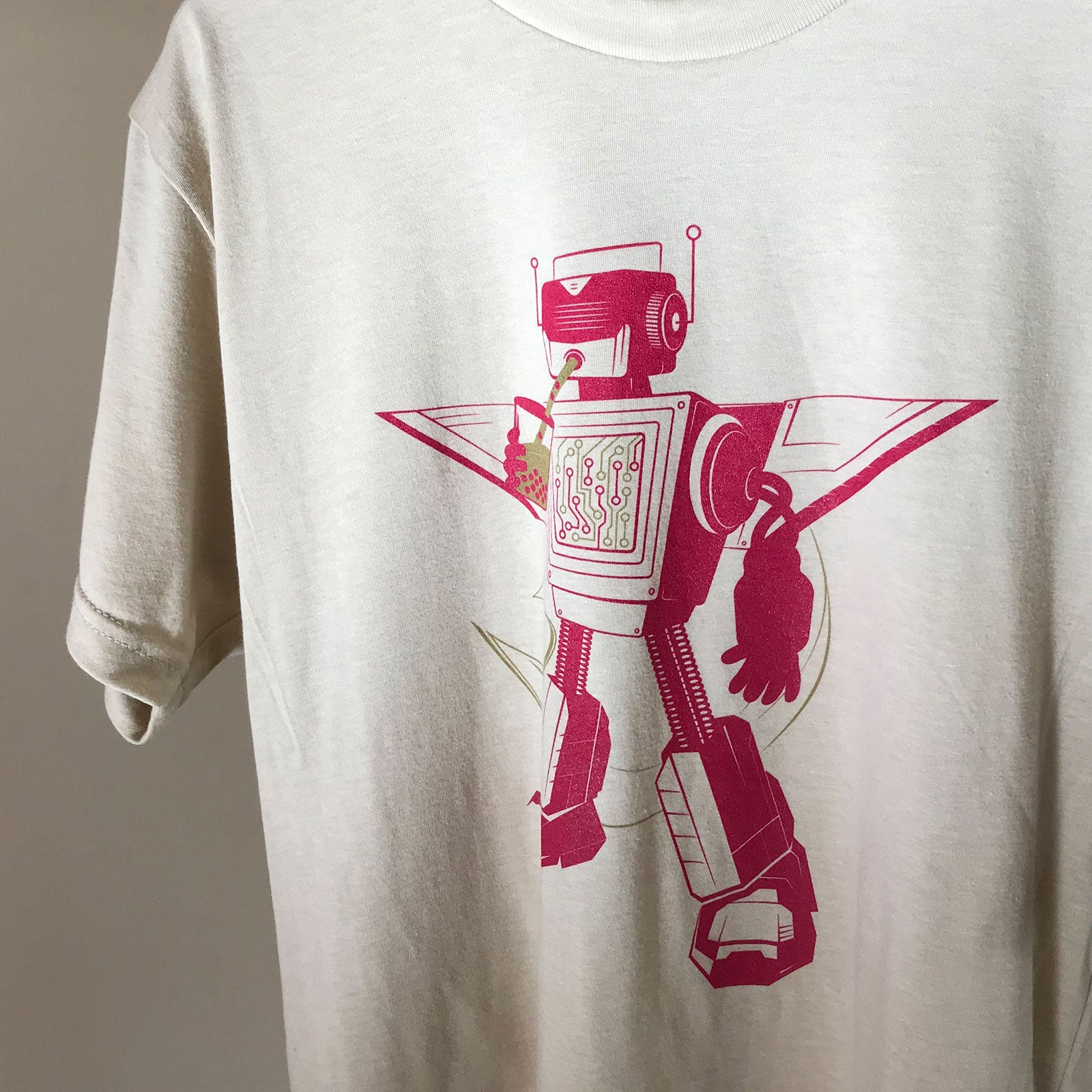 Super Boba Bot graphic tshirt