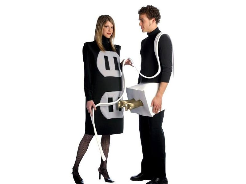 Couples costume - Plug and Socket
