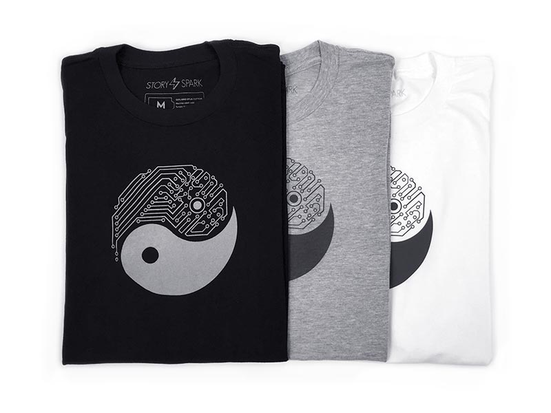 YIN YANG T-Shirt by STORY SPARK
