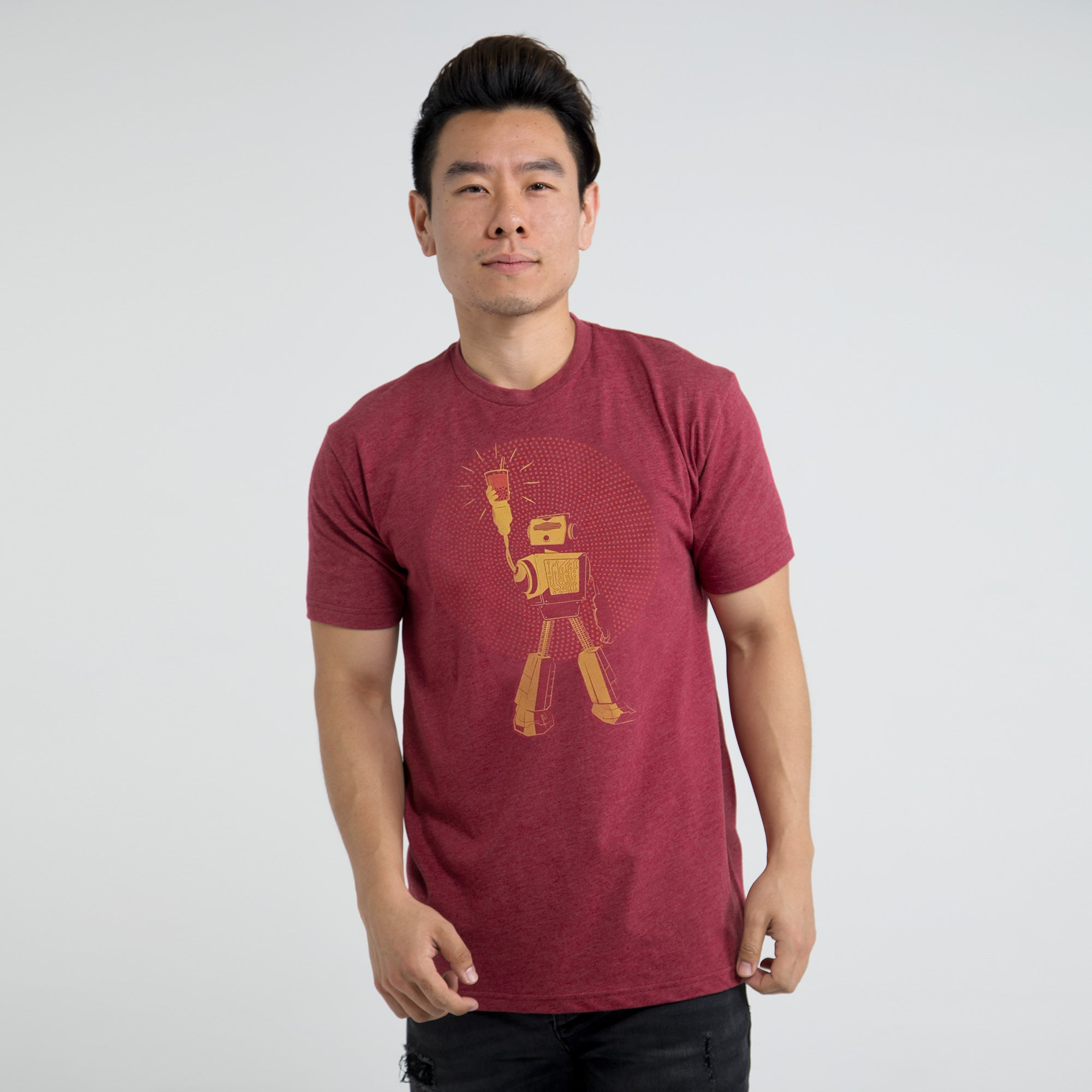 Boba Bot T-shirt for Boba Tea Lovers and Robotics Engineers