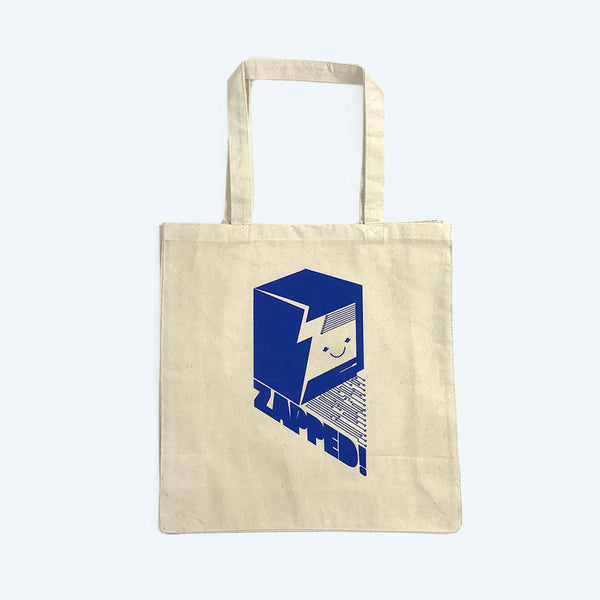 Bags - Zapped Canvas Tote Bag