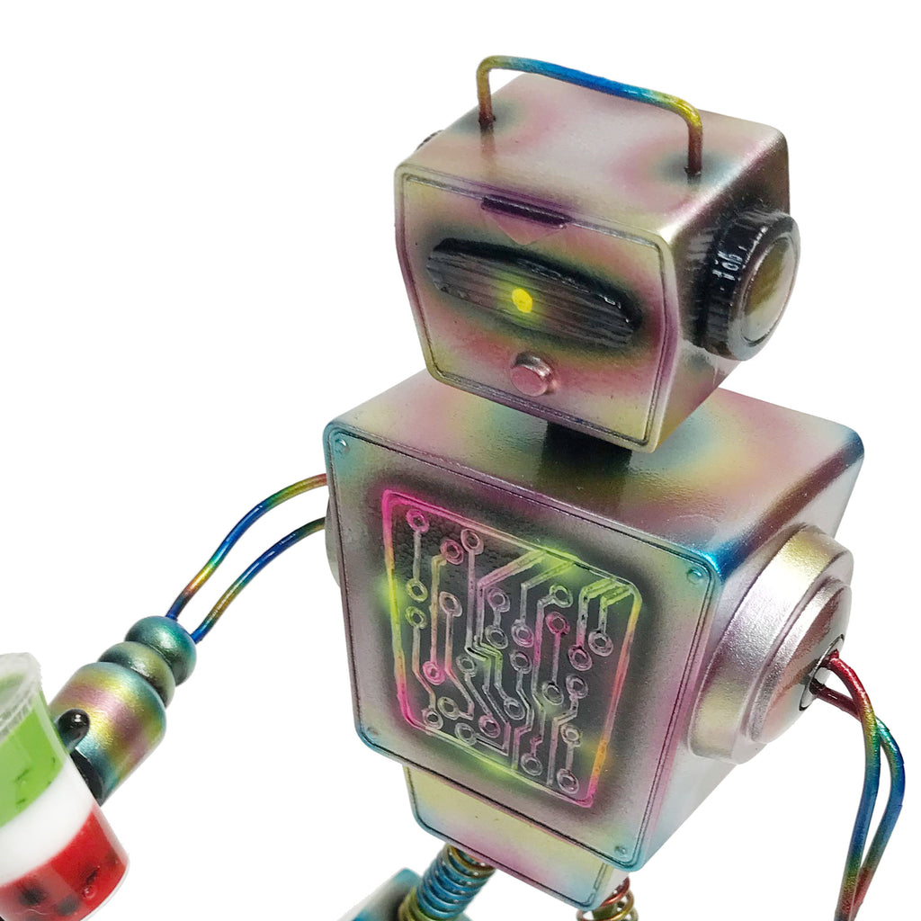 Boba Bot Resin Figure Exclusive Mark Nagata Paint