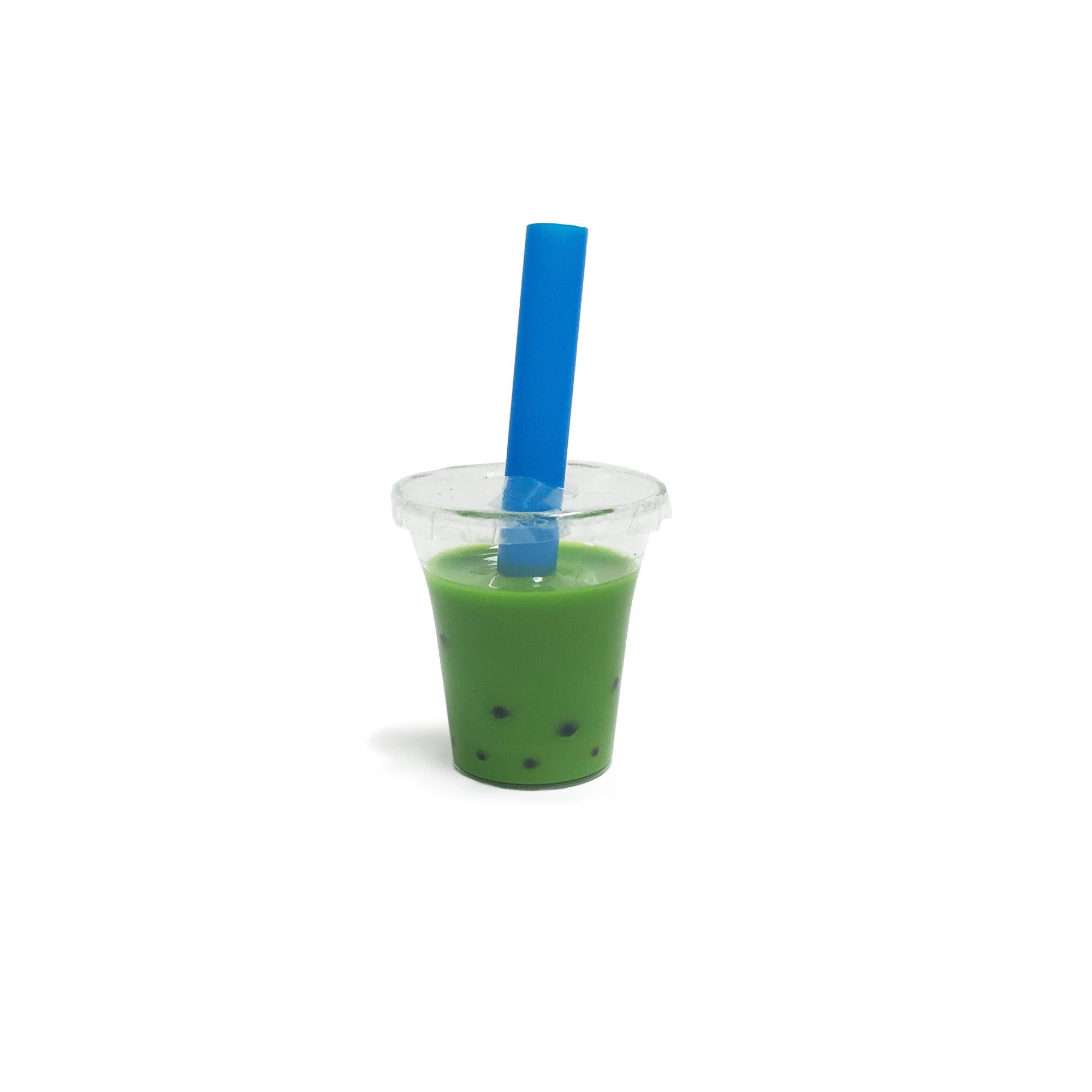 Matcha Green Tea Boba Cup for Resin Boba Bot