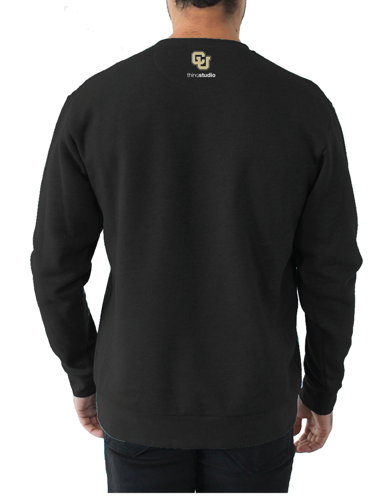 Custom pullover fleece for University of Colorado Denver ThinqStudio