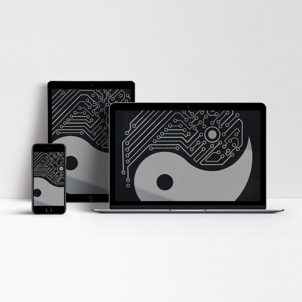 Digital Download - Digital Wallpapers - Yin Yang