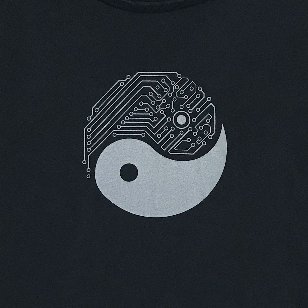 Yin Yang Tech Shirt for Engineers, Gamers, Techies
