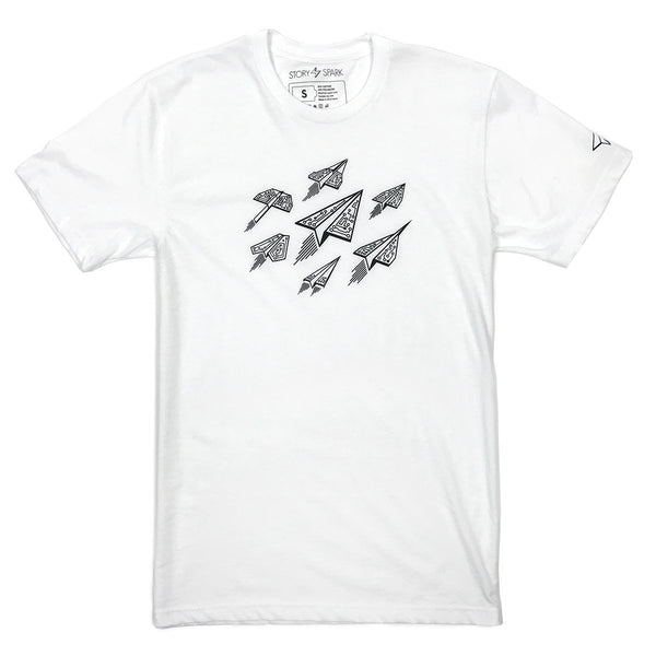 Graphic T-Shirts - Ascend T-Shirt (White)