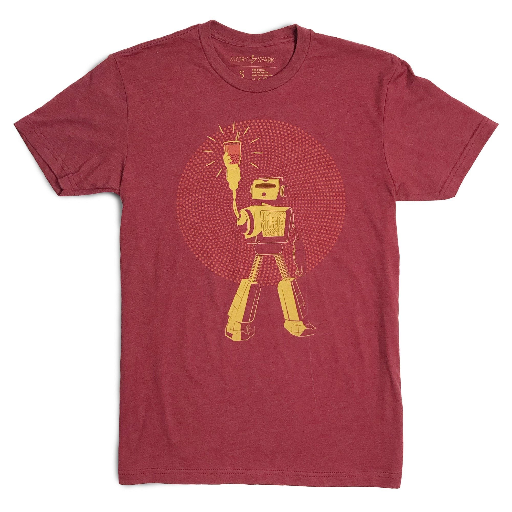 Boba Graphic T-Shirts -  Boba Power Robot Shirt