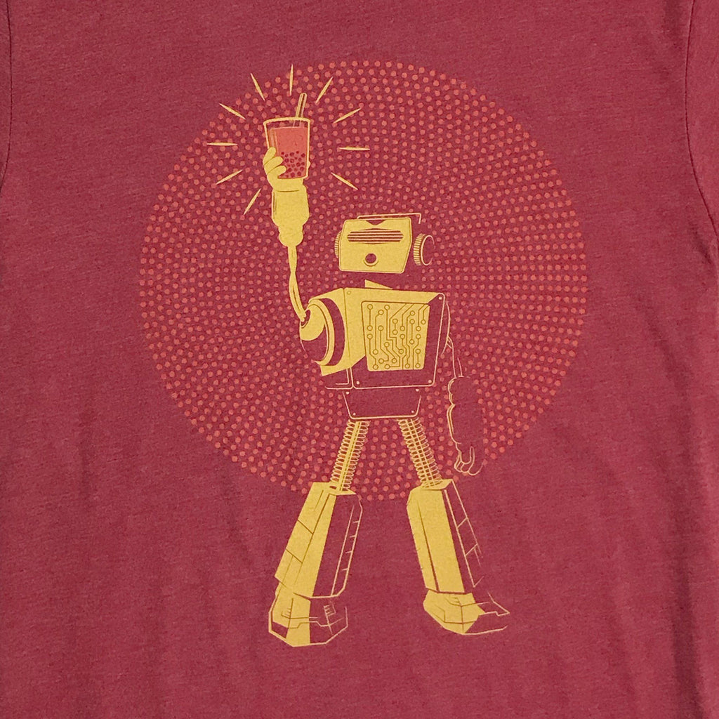 Graphic T-Shirts - Boba Bot Tee for Engineers and Boba Lovers