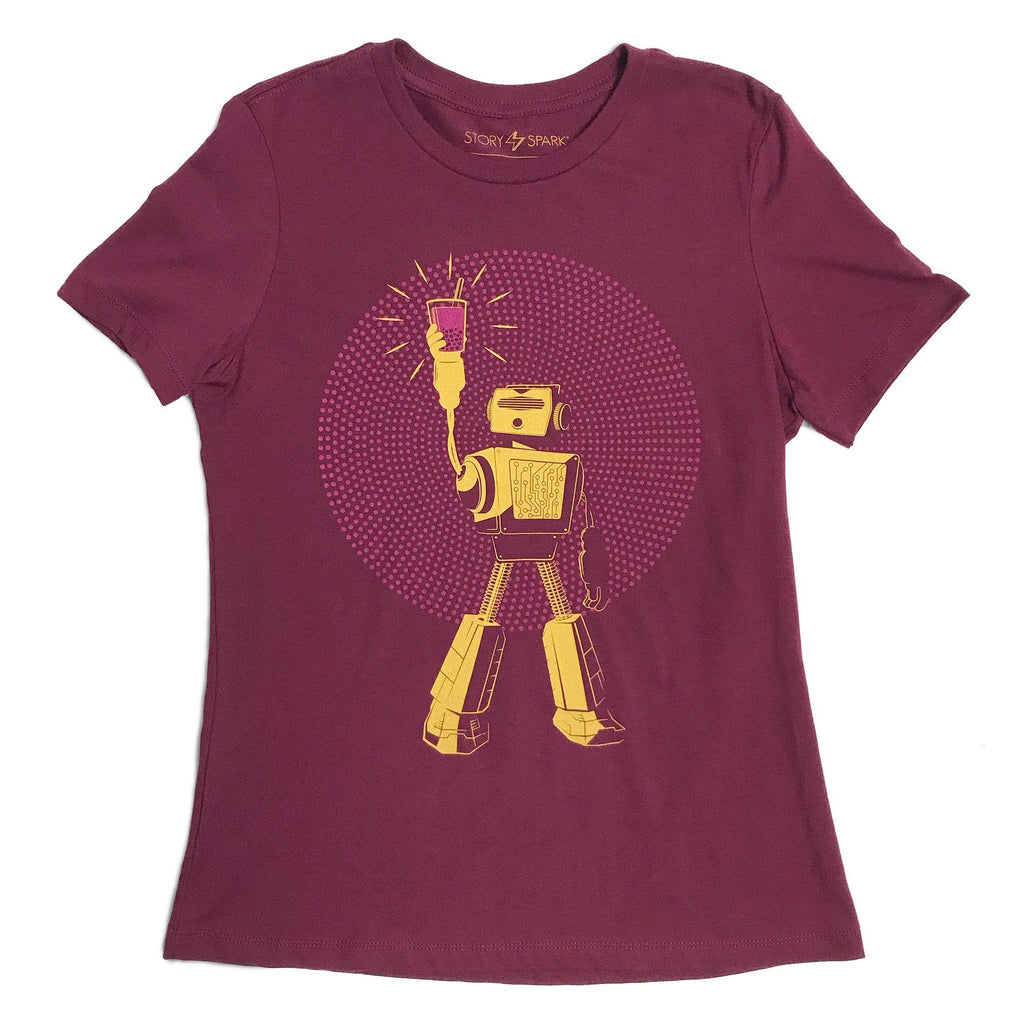 Graphic T-Shirts - Boba Power Womens T-shirt