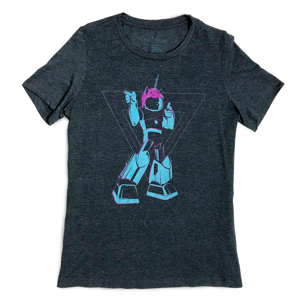 Graphic T-Shirts - Cosplayer Bot Womens T-shirt