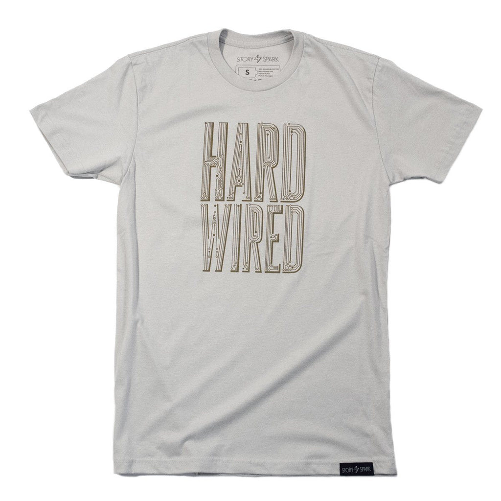 Graphic T-Shirts - Hard Wired T-Shirt - Story Spark - 1