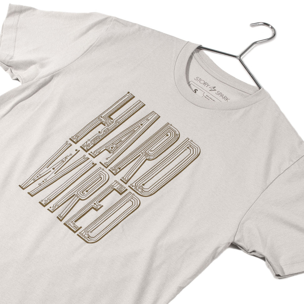 Hard Wired T-Shirt - STORY SPARK