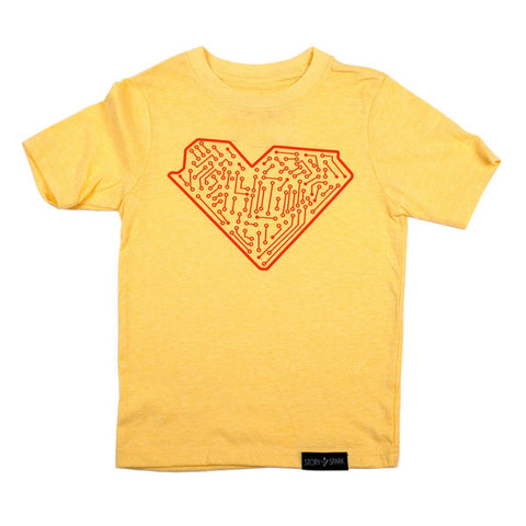 I Heart Tech Kids T-Shirt