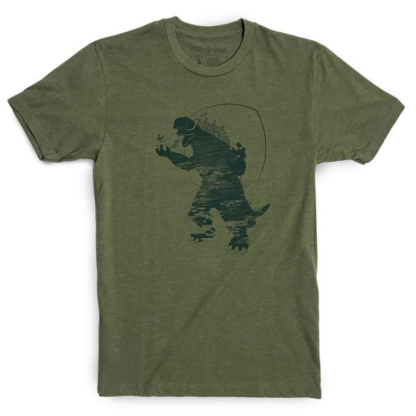 Graphic T-Shirts - Mixed Reality T-shirt (Olive)