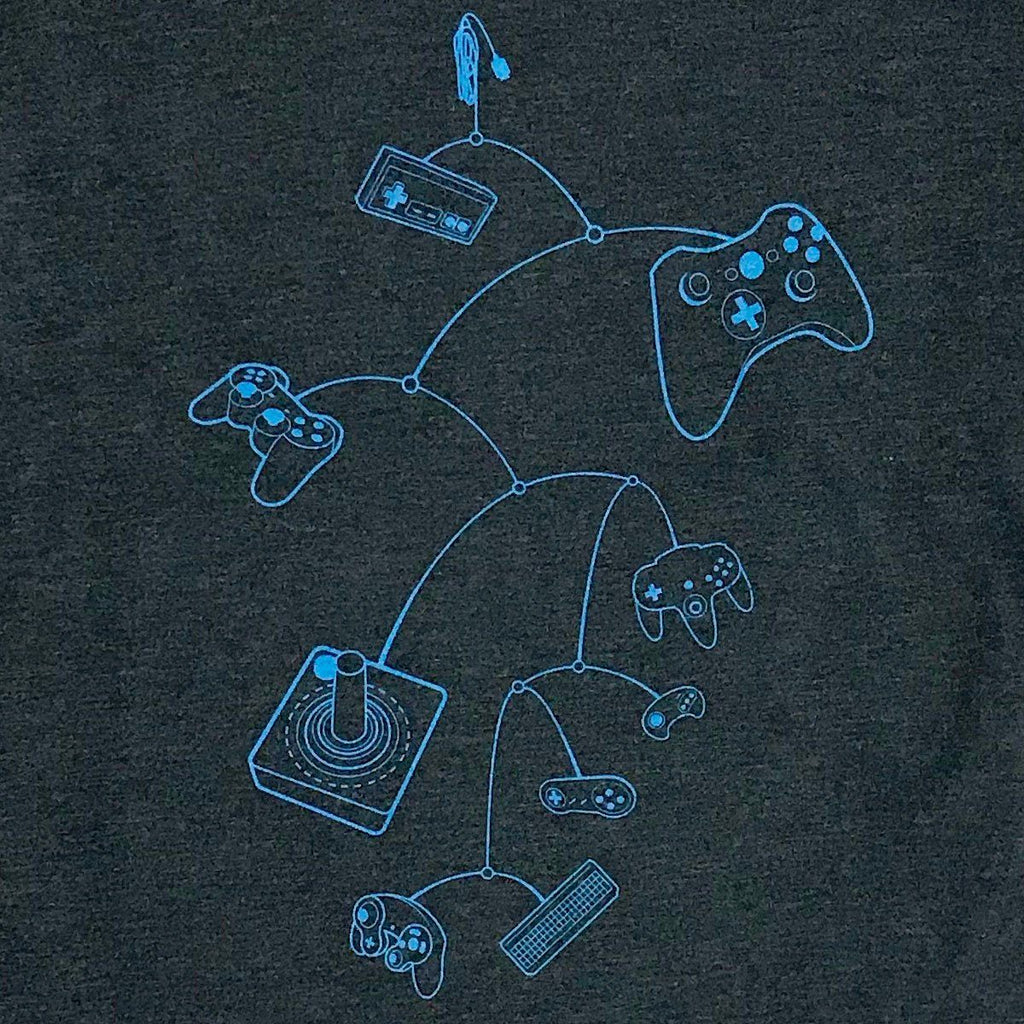 Graphic T-Shirts - Mobile Controls T-Shirt (Charcoal)