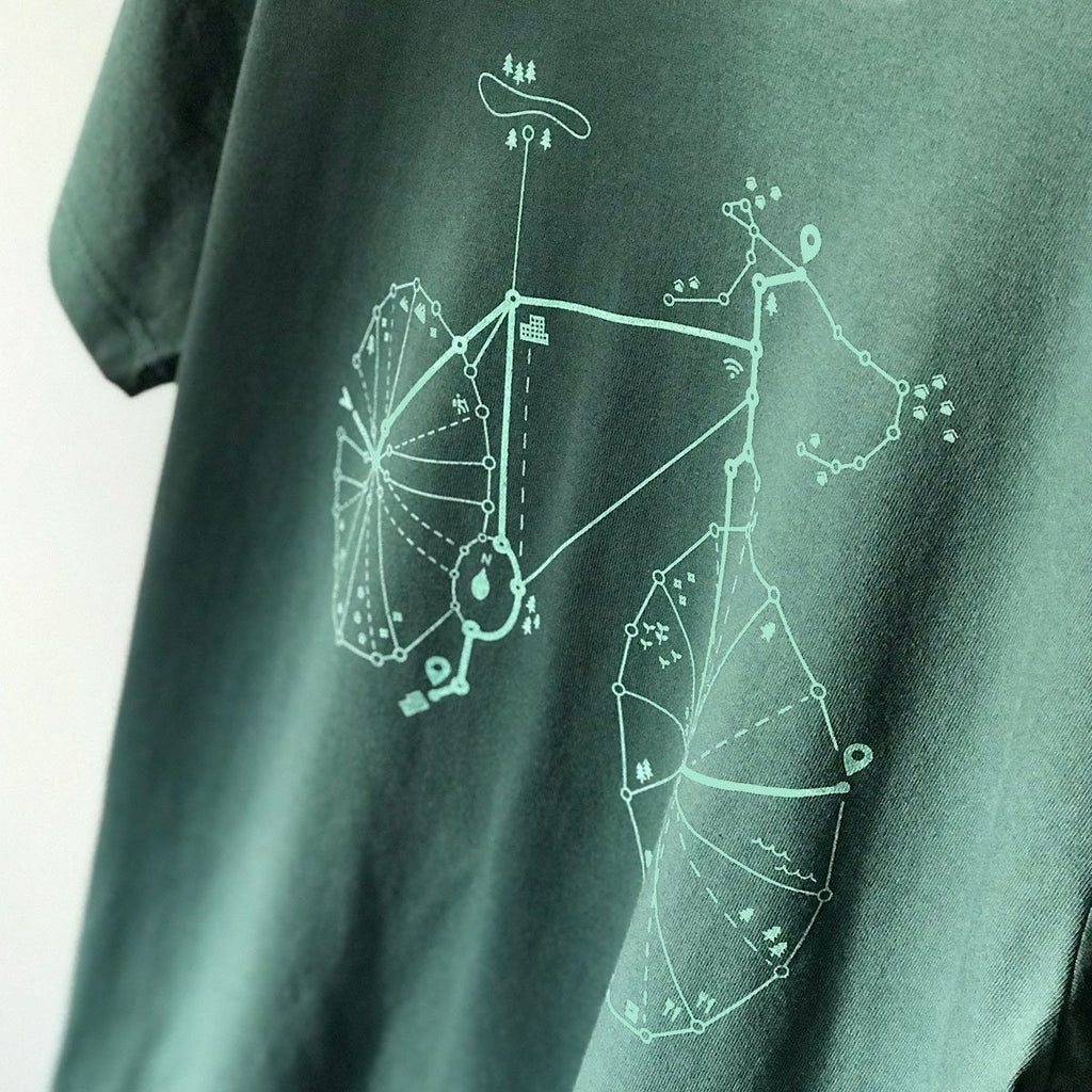Graphic T-Shirts - Pathfinder Sustainable T-shirt (Pine Green)