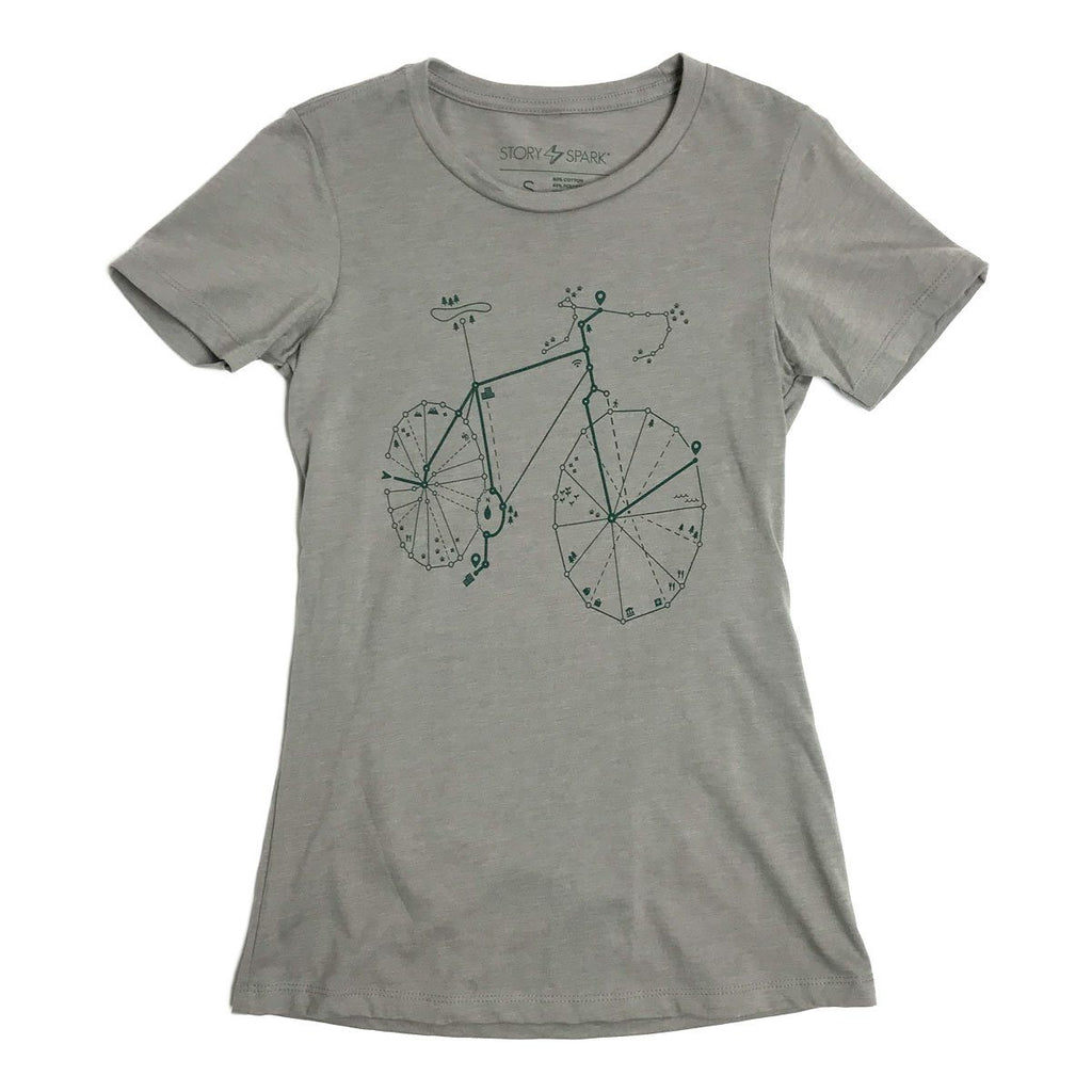 Pathfinder Womens T-Shirt - STORY SPARK