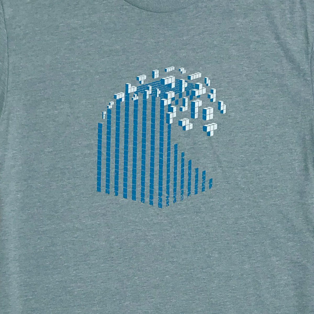 Techy Wave T-Shirt - Sustainable Shirt for Gamer and Techies