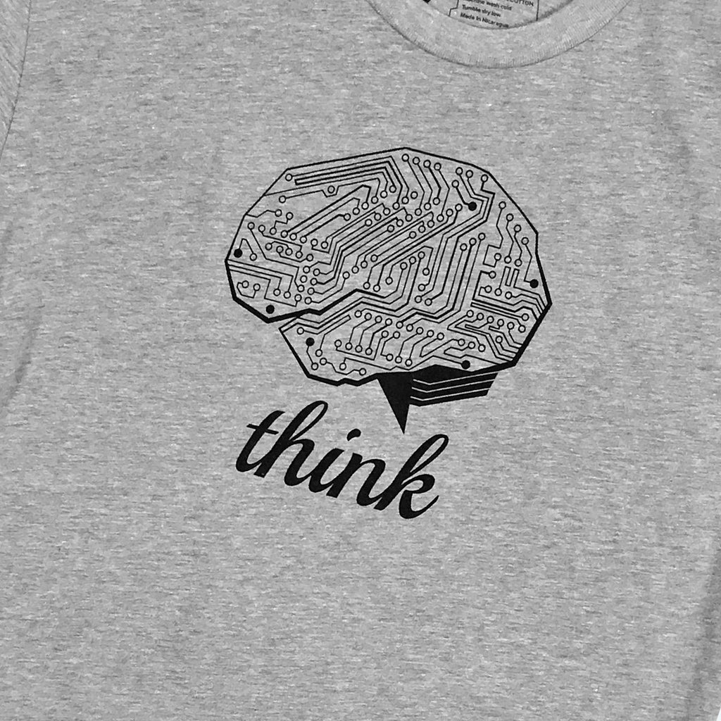 Circuit board tech brain T-Shirt for Engineers, Scientists