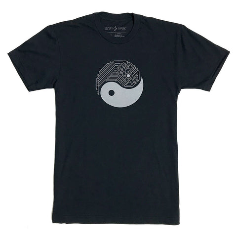 Yin Yang Tech T-Shirt (Black)