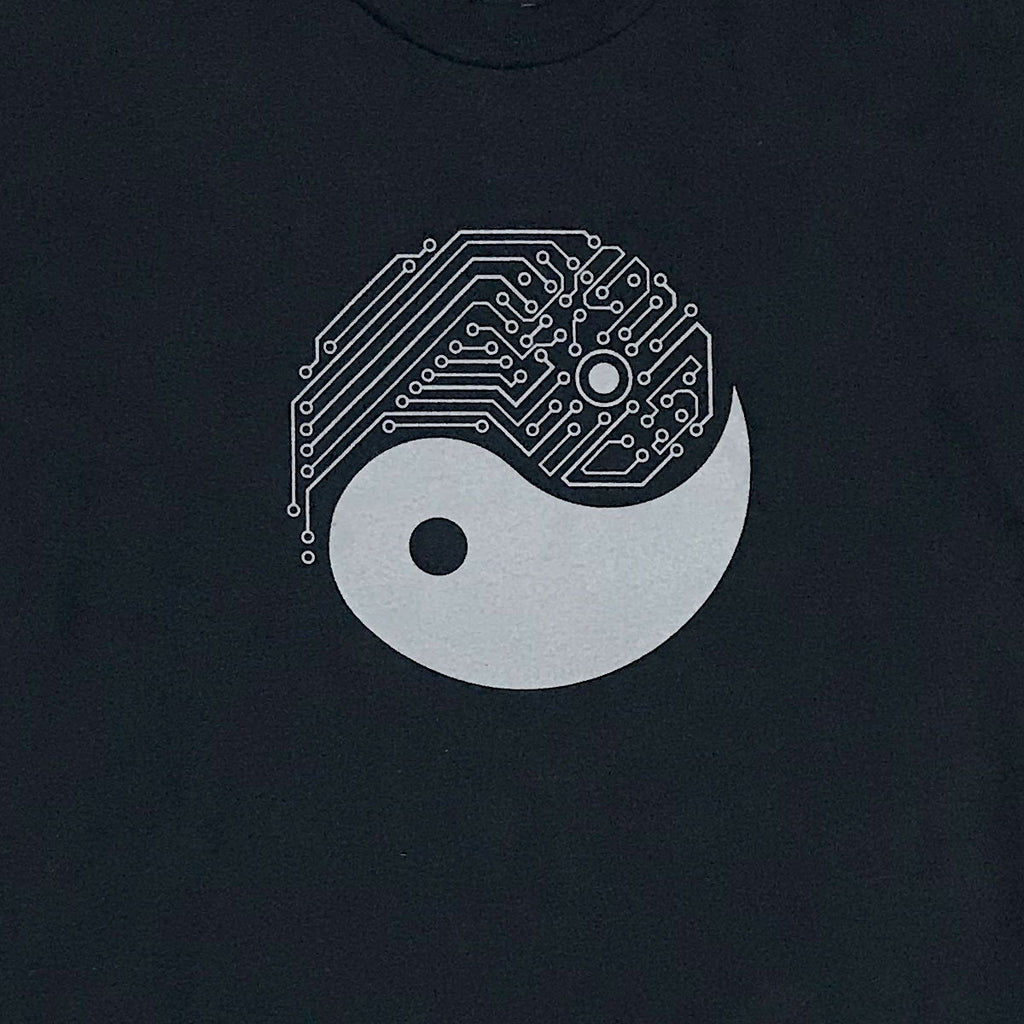 Graphic T-Shirts - Yin Yang Tech T-Shirt (Black)