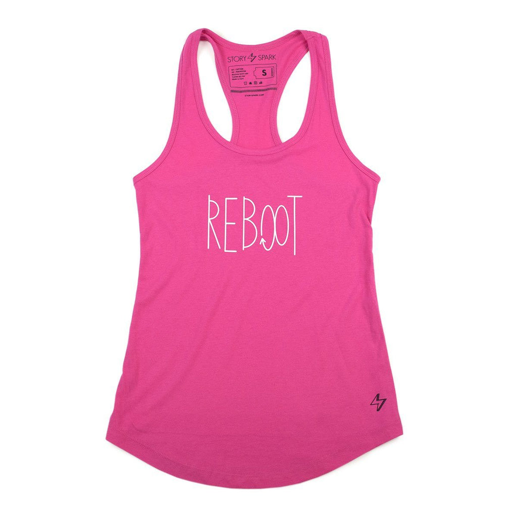 Graphic Tanks - Reboot Womens Tank - Story Spark - 1