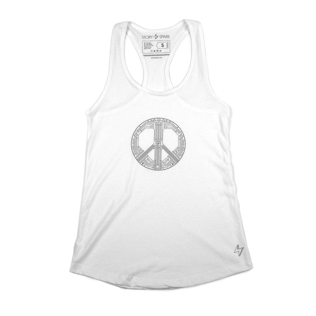 Graphic Tanks - Smart Peace Tank - Story Spark - 1