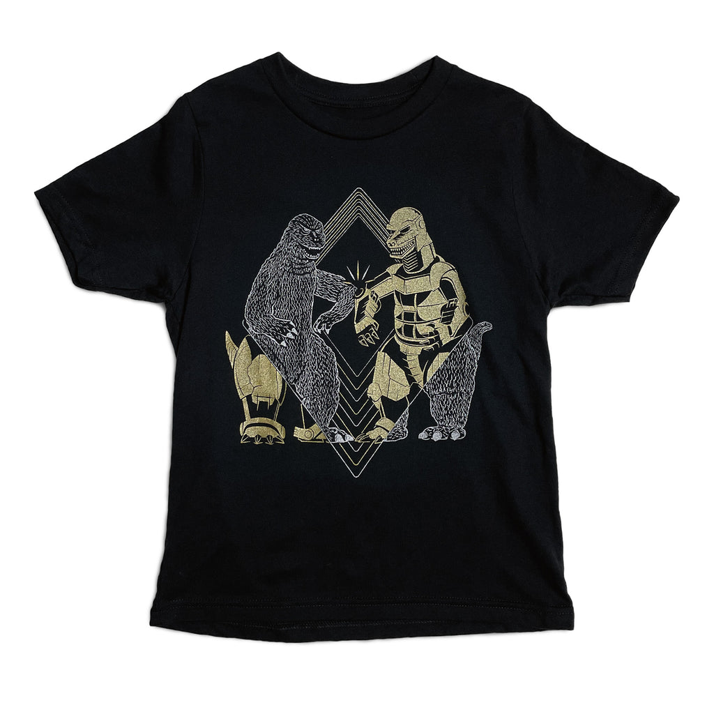 Elbow Bumping Monsters Kids Shirt