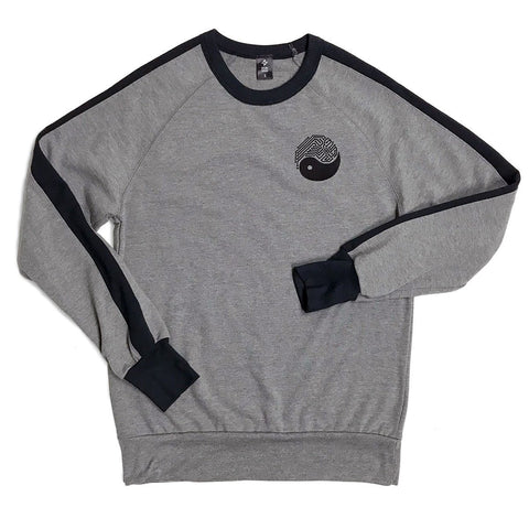 Yin Yang Tech Pullover (Grey / Black)